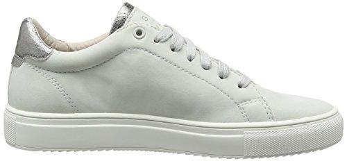 ESPRIT Damen Sandrine Lace Up Sneakers Grau (pastel Grey 050)