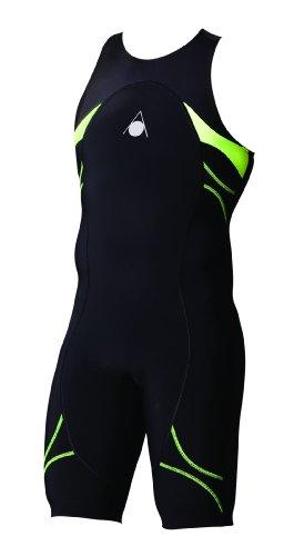 AQUA SPHERE Combinaison Energize pour Homme, Noir/Vert, 81cm