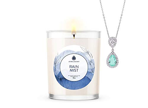 JewelScent Rain Mist Signature 10z Candle...
