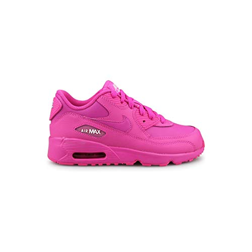 Nike Air Max 90 LTR Laser Fuchsia/Laser Fuchsia (PS) (13 M US Little Kid / 13C)