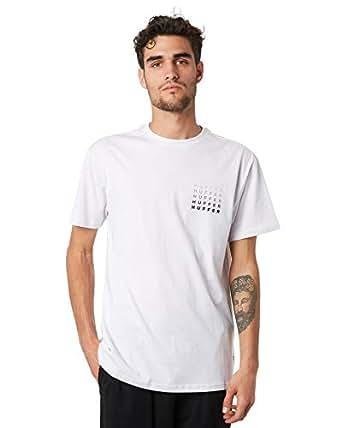 Huffer Men's Lighten Up Mens Tee Short Sleeve Cotton White
