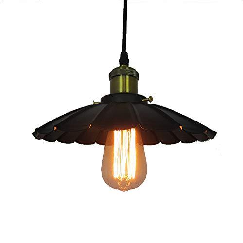- Metcandy Vintage Umbrella Chandelier American Country Wrought Iron loft Restaurant Cafe Pendant Light,42CM
