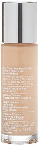 Clinique Beyond Perfecting Foundation + Concealer Makeup 1 oz, 2 Alabaster (VF-N)