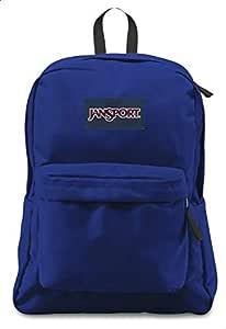 Jansport Superbreak School Backpack For Unisex - Blue