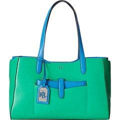 Ralph Lauren Davenport Shopper-Peppermint/French Blue by Lauren by Ralph Lauren (Image #4)