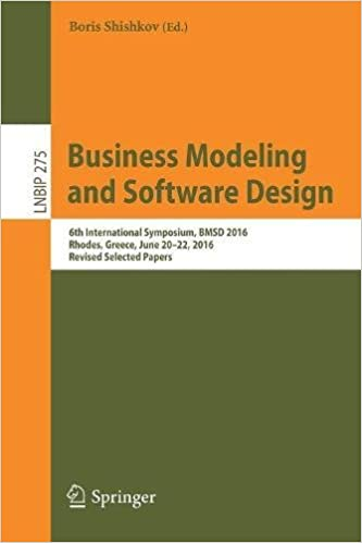 Business Modeling and Software Design: 6th International Symposium, BMSD 2016, Rhodes, Greece, June 20-22, 2016, Revised Selected Papers (Lecture Notes in Business Information Processing)
