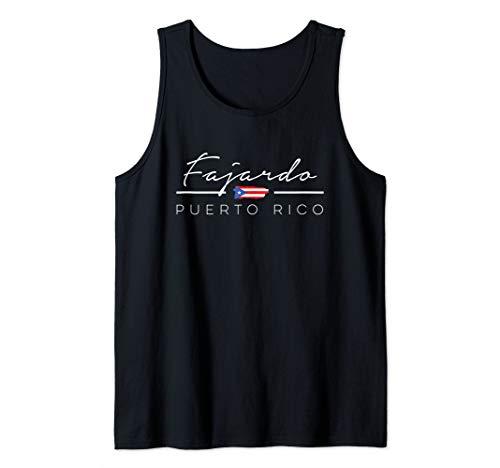 FAJARDO Puerto Rico Tank Top