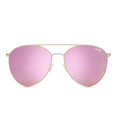 Quay Australia INDIO Women's Sunglasses Jasmine Aviator Teardrop - - Sunglasses Teardrop