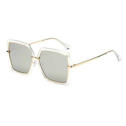 Aoligei Mode hommes et femmes avec boîte lunettes de soleil lunettes de soleil rétro tfReUU