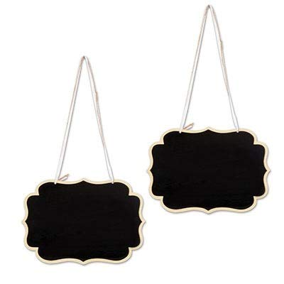 Bargain World Chalkboard Signs (with Sticky Notes) by Bargain World (Image #2)