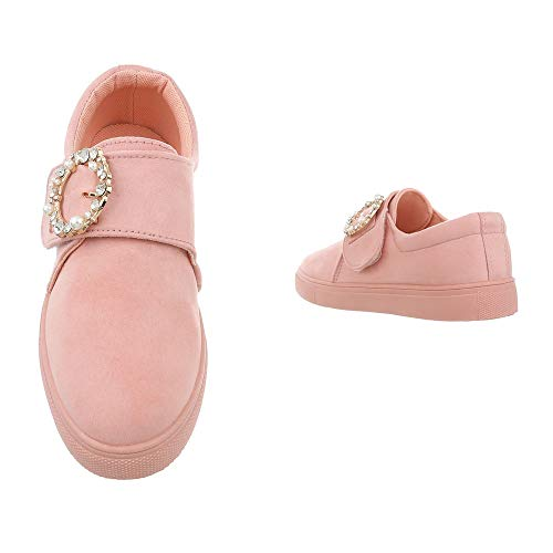 Bajo Rosa Tobillo design Ital 4 Mujer D38 qCw6ppxvPE