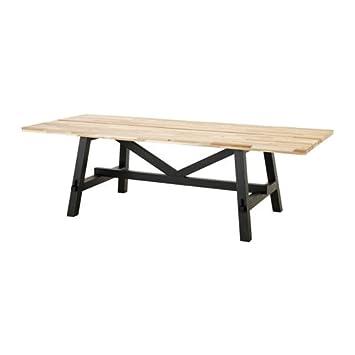Amazon Com Ikea Dining Table Acacia 2026 292329 2238 Tables