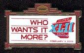 NFL Super Moreピン Bowl 42 B0013GUJ0G Who It Wants It Moreピン B0013GUJ0G, デジタルプリントPAO:913c8c66 --- hanjindnb.su