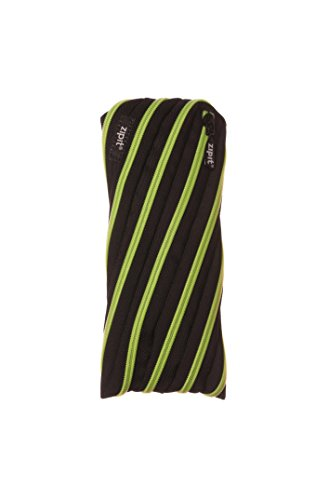Zipit Glowy Pencil Case - Black & Radiant Lime