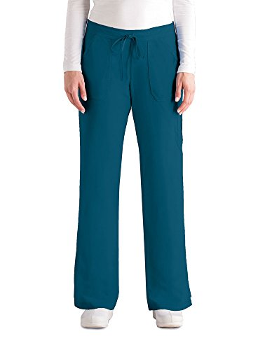 Greys Anatomy Junior Fit Cargo Scrub Pant BAHAMA MD