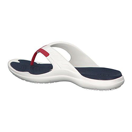 Blanc Adulte Crocs Modi Sport FlipTongs Mixte wOPn80k