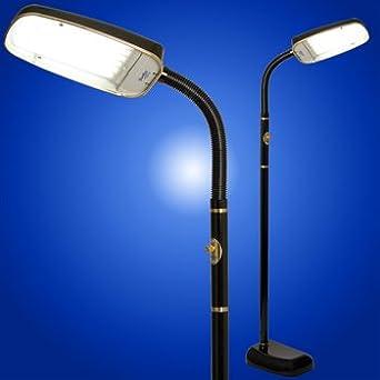 BlueMax 70 Watt Full Spectrum 10000 Lux Light Therapy/SAD Floor L& Black & BlueMax 70 Watt Full Spectrum 10 000 Lux Light Therapy/SAD Floor ... azcodes.com