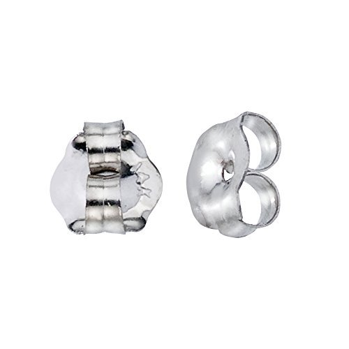 5. Direct-Jewelry 14K White Gold Replacement Earring Backs