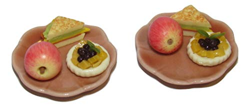 LPS 1:6 Scale Food Sets for Dollhouse Miniatures Littlest Pet Shop & Barbie Dolls Breakfast, Lunch, Dinner & More (Toasted Sandwich -