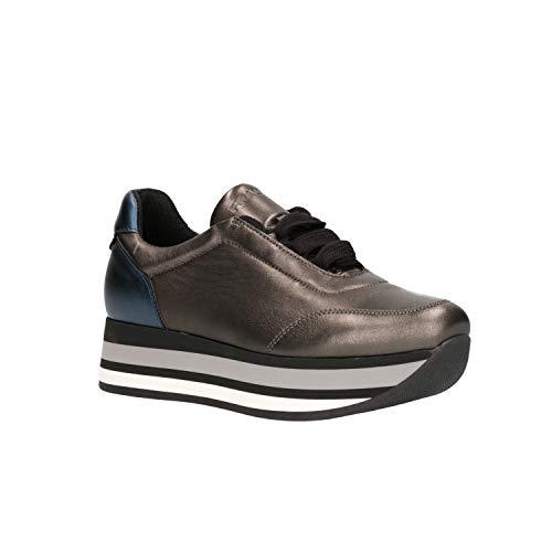 55r2 Frau Sneaker Frau Donna Antracite Sneaker Donna dPXZXxO
