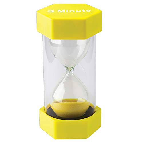 Teacher Created Resources TCR20659BN 3 Minute Sand Timer - Large, Pack of 2