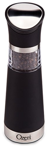 Ozeri Graviti Pro Electric Pepper Mill and Grinder, BPA Free (Electric Pepper Mill)