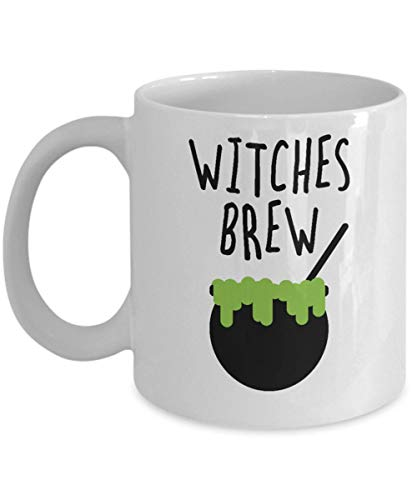 Halloween Drink Concoctions (Mr.Fixed - Witches Brew Magic Potion Concoction Halloween Witchcraft Bewitching Drinks Wizard World Coffee Mug Tea Cup Gift Souvenir Giveaways, 11oz Ceramic Coffee Mug, Unique)