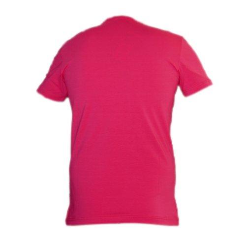 / Redbridge Cipo & Baxx uomo slim fit T-Shirt per SCRATCH Party 1606 fucsia taglia L