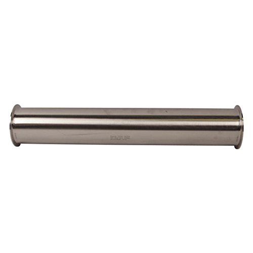 Glacier Tanks - Sanitary Spool | Tri Clamp 4 inch x 24 inch - Sanitary Stainless Steel SS304 / 3A (2 Pack)