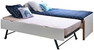 FEELHARMONIE - Pack cama nido con somier y colchón Kaola, madera ...
