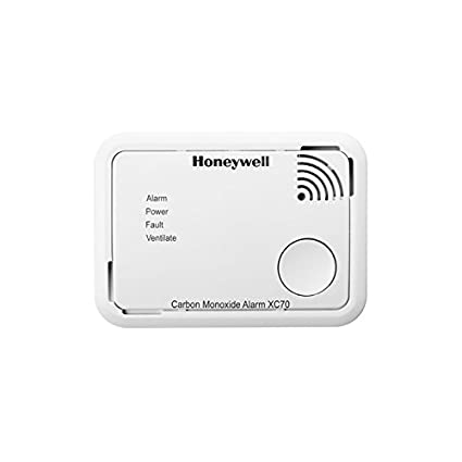Honeywell Home XC70-ESPT Detector autónomo de CO (batería) color blanco, 106