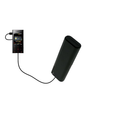 (Gomadic Portable AA Battery Pack designed for the LG Chocolate BL42 - Powered by 4 X AA Batteries to provide Emergency charge. Built using TipExchange Technology)