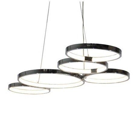 DRW - Lámpara de Techo LED para Colgar con Altura Regulable ...