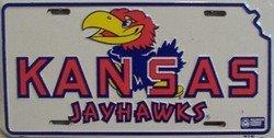 LP - 907 Kansas Jayhawks License Plate - 461