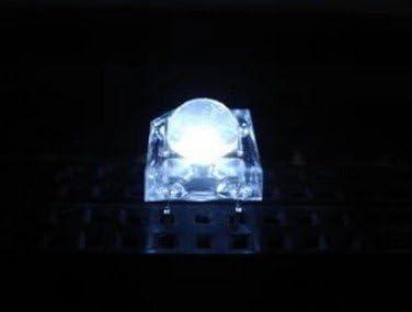 100 pcs 5mm Piranha Super Flux Blue LED light Bulb