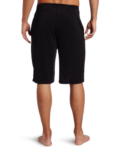 Stacy Adams Men's Knit Sleep Short, Black, Large