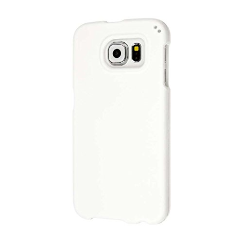 MPERO Samsung Galaxy S6 Case, SNAPZ 2-piece Protective Hard Shell Cover, White