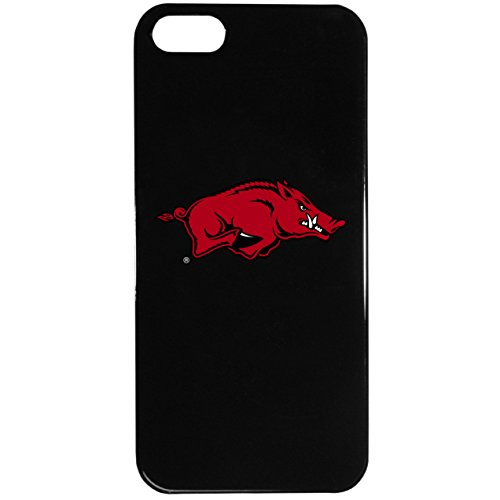 NCAA Arkansas Razorbacks iPhone 5/5S Logo Case (Razor Cell White Case Phone)