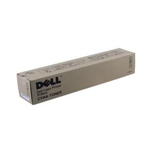 Dell GG579 OEM Toner - 5100CN Cyan Toner (OEM# 310-5810) (8000 Yield) - Dell 5100cn Cyan Toner