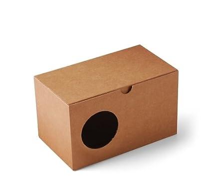 Selfpackaging Caja para Tazas con Agujero para Que se vea la Taza Que estás comprando.