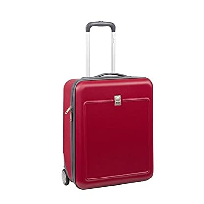 31pf5Fa3UlL. SS416  - Delsey visado-Maleta de cabina, policarbonato y abs 2 ruedas easy fly 50 cm, color rojo