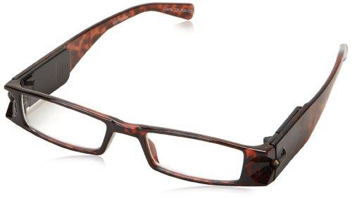 (Foster Grant Liberty Rectangular Reading Glasses,Tortoise,2)