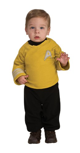 Star Trek into Darkness Captain Kirk Costume, Toddler 1-2 (Infant Haloween Costume)