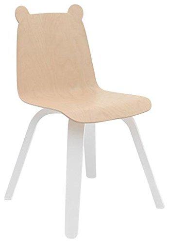 dc6ca691f Amazon.com: Oeuf Set of 2 Play Chairs- Bear- Birch: Home & Kitchen
