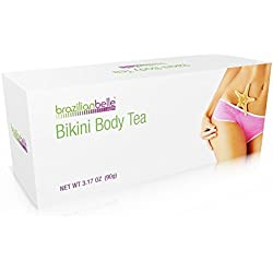 Bikini Body Detox Tea for Weight Loss - Best Slimming Tea on Amazon - Boosts Metabolism, Shrinks Love Handles and Improves Complexion - 100% Natural Blend of Oolong Tea, Green Tea and Puêerh Tea.