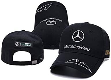 para Mercedes-Benz2 Logo AMG Car Cap Sport Baseball Hat Outdoor Adjustab ZY