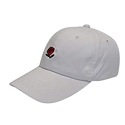 Koolsants - Gorra de béisbol de algodón con bordado de rosas para ...