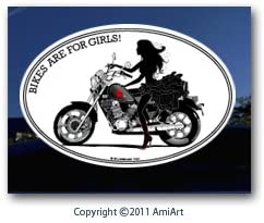 Amazon Com Motorcycle Decal Lady Cruiser Biker Bikes Are For