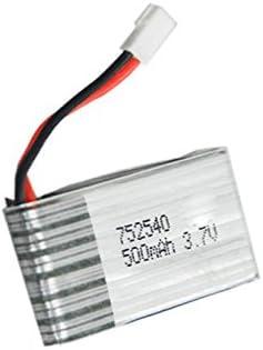 Pilas Batería covermasn piezas de repuesto batería de polímero de 3.7 V 500 mAh 25 C Lipo para el Quadcopter de Syma X5 X5 C H5 C X5 A RC: Amazon.es: Electrónica