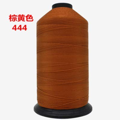 Laliva 840D/3 High Strength Dia.0.7mm Bonded Polyester Sewing Thread for Waterproof Cloth Leather Canvas Shoes Tent Car Seat Belt 1000g - (Color: 4) by Laliva